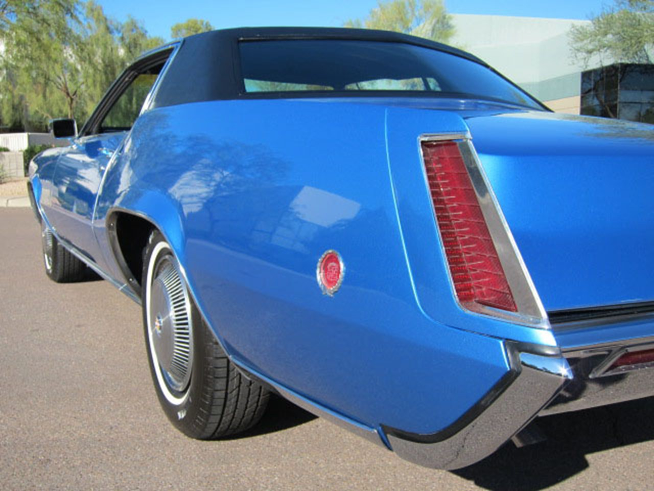 1967-1969 Eldorado tail fin