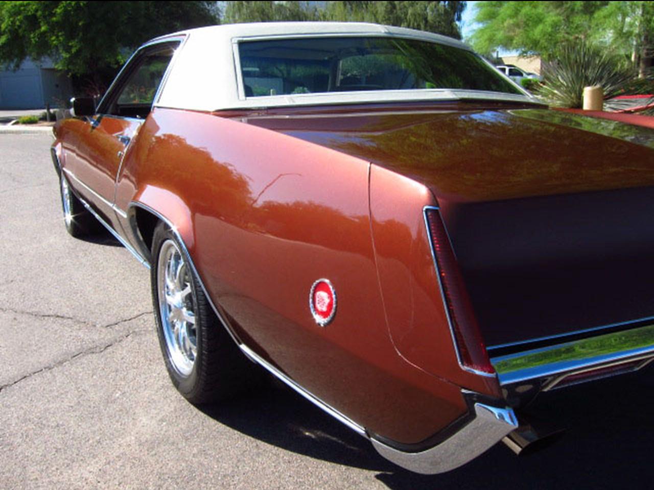 1970 Eldorado tail fin