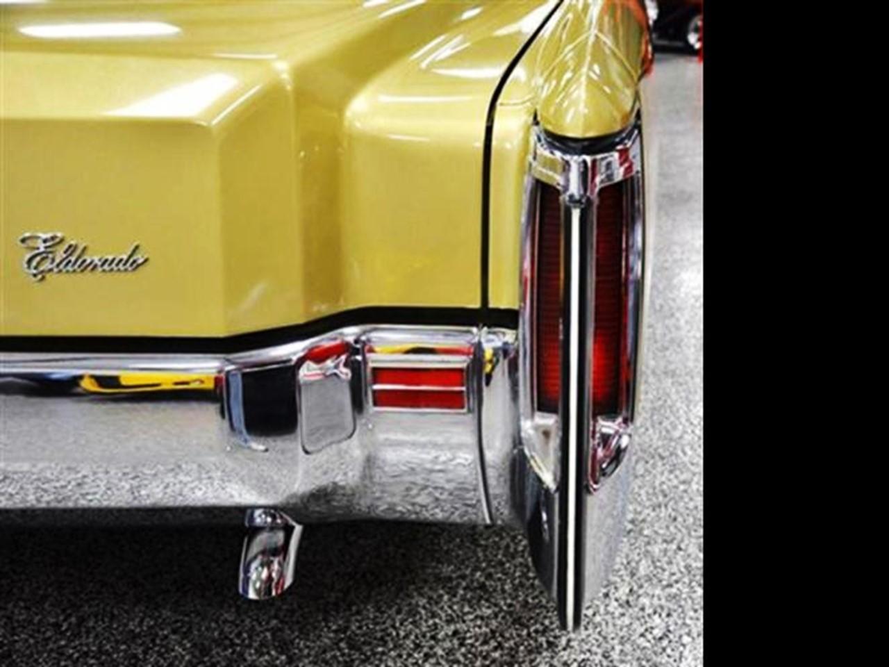 1971-1972 Eldorado tail fin