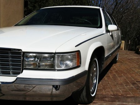 1994 Fleetwood Brougham white 2