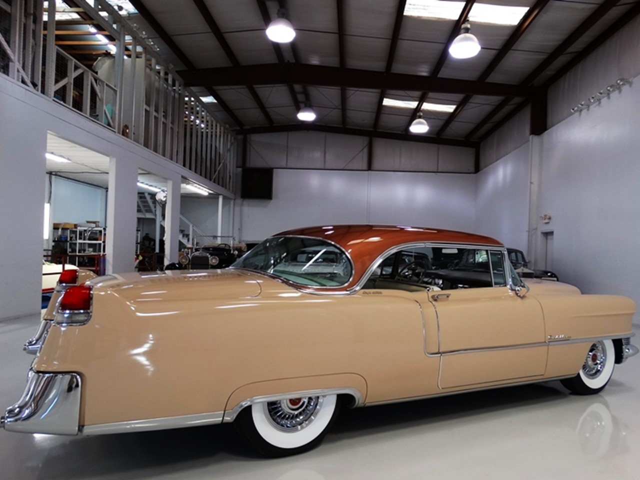 1955 Cadillac Series 62 Coupe deVille 11