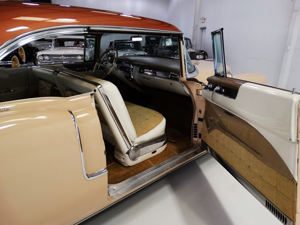 1955 Cadillac Series 62 Coupe deVille 18