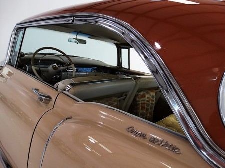 1955 Cadillac Series 62 Coupe deVille 2