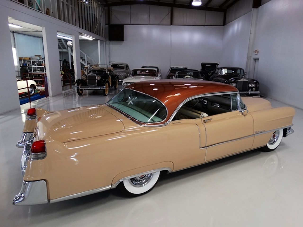 1955 Cadillac Series 62 Coupe deVille 24