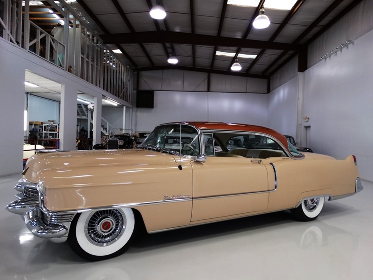 1955 Cadillac Series 62 Coupe deVille 5