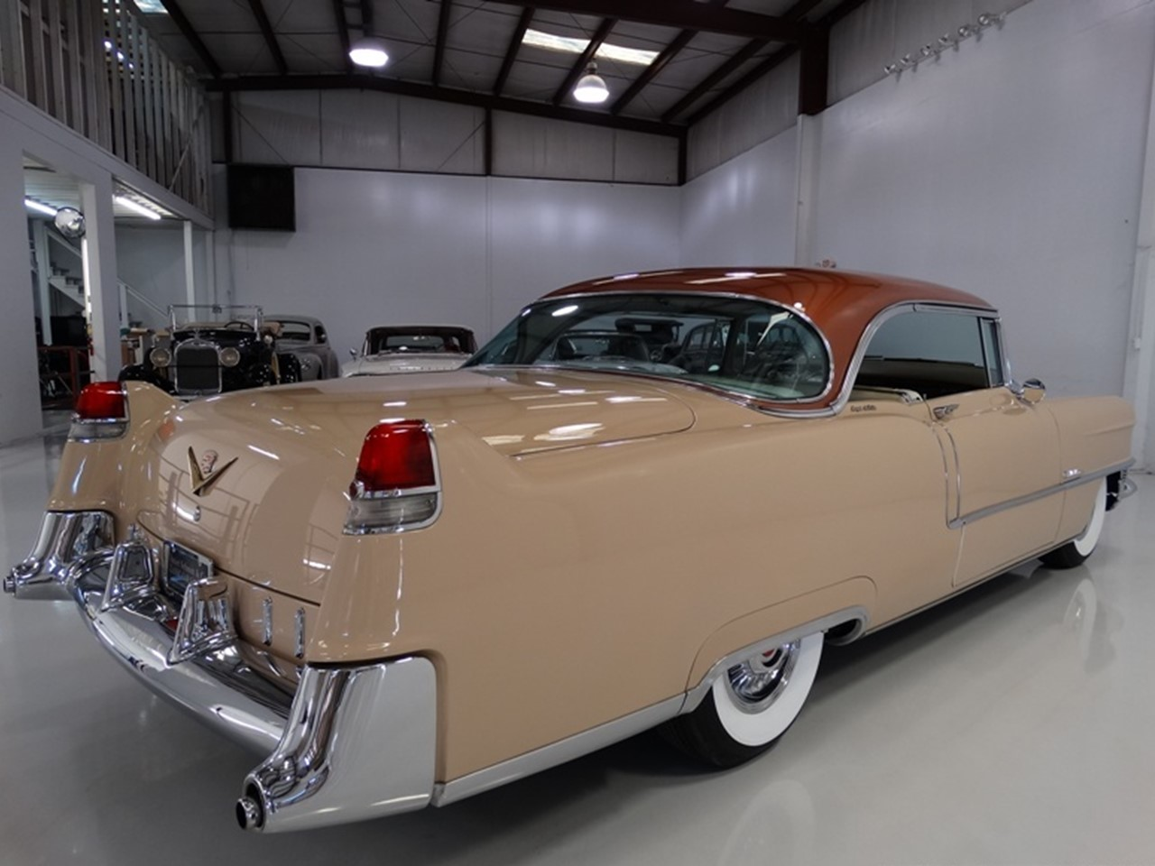 1955 Cadillac Series 62 Coupe deVille 8