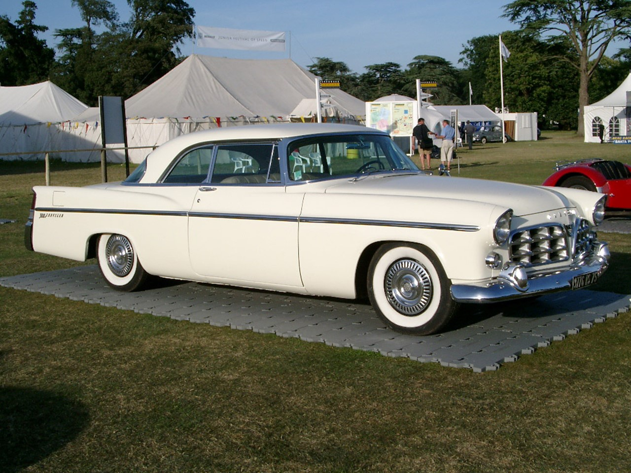 1957 Chrysler 300c The Beautiful Brute Notoriousluxury 1950s Cars 1956 300b 1