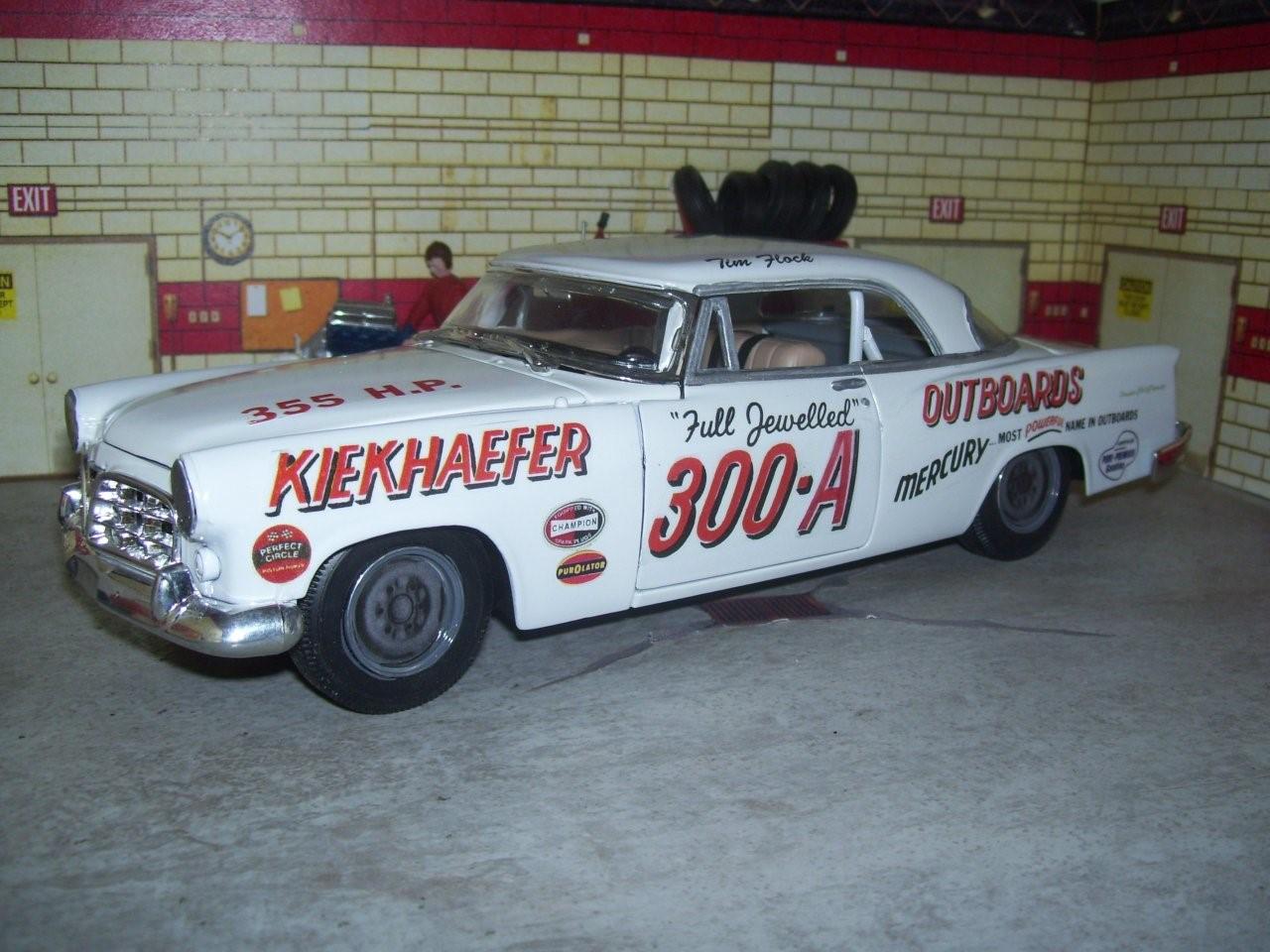 1956 Chrysler 300B in track form 1