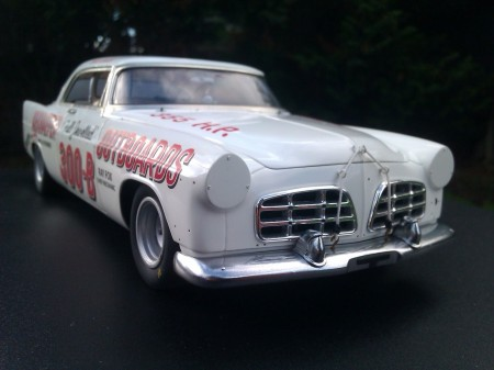 1956 Chrysler 300B racing 1