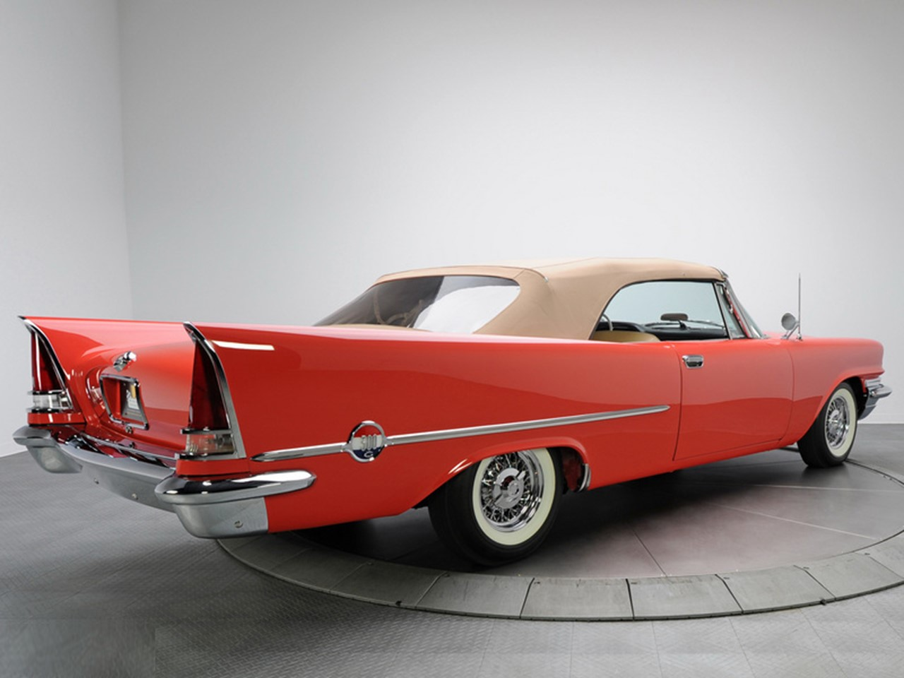 1957 Chrysler 300C convt 12