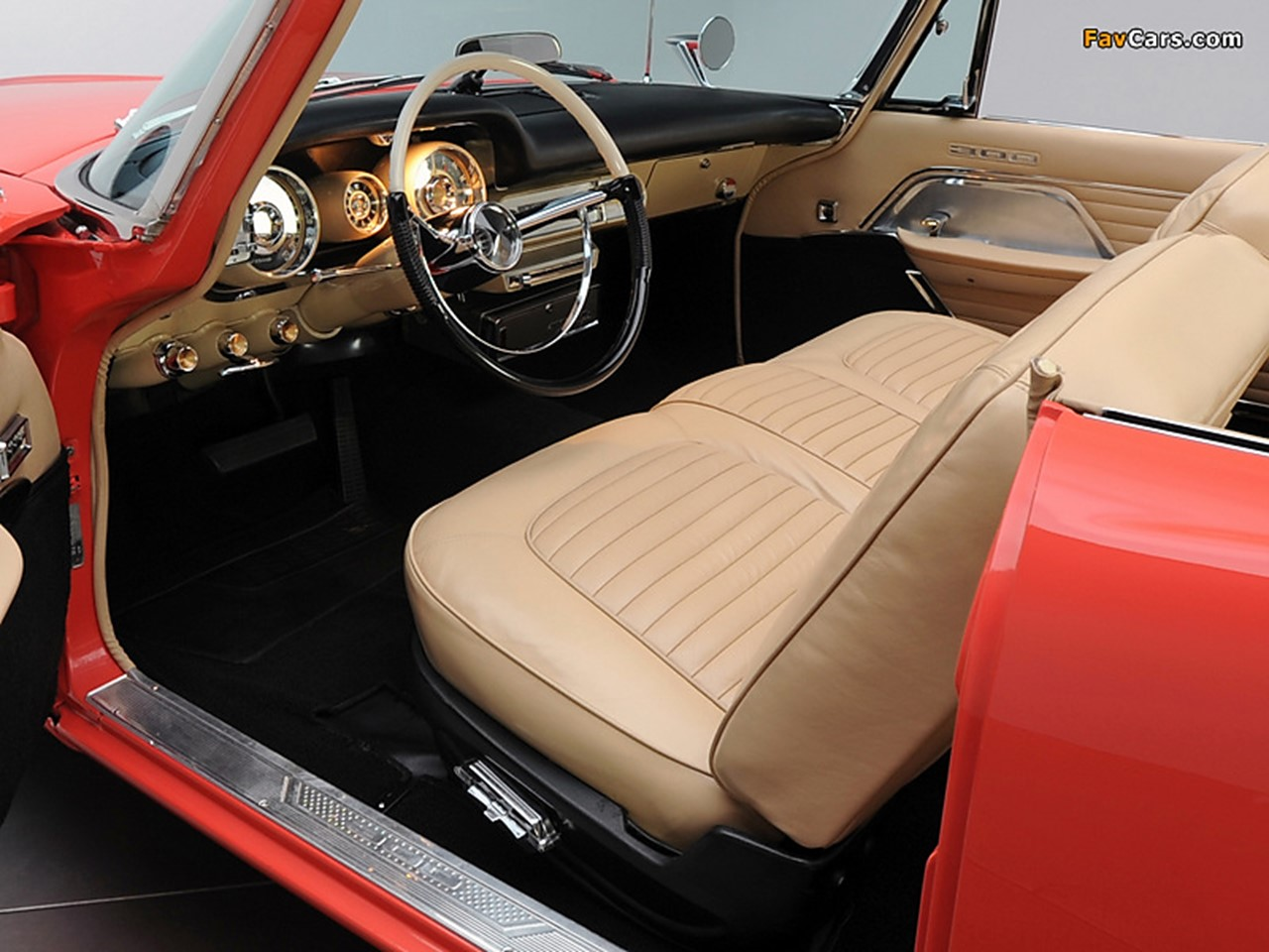 1957 Chrysler 300C convt 17