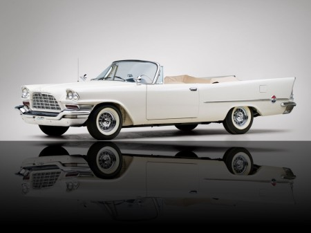 1958 Chrysler 300 convertible coupé 1