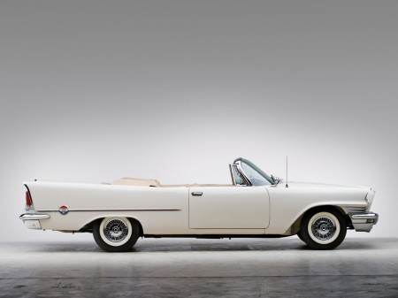 1958 Chrysler 300 convertible coupé 2