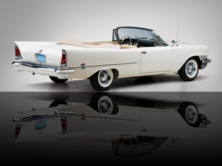 1958 Chrysler 300 convertible coupé 3