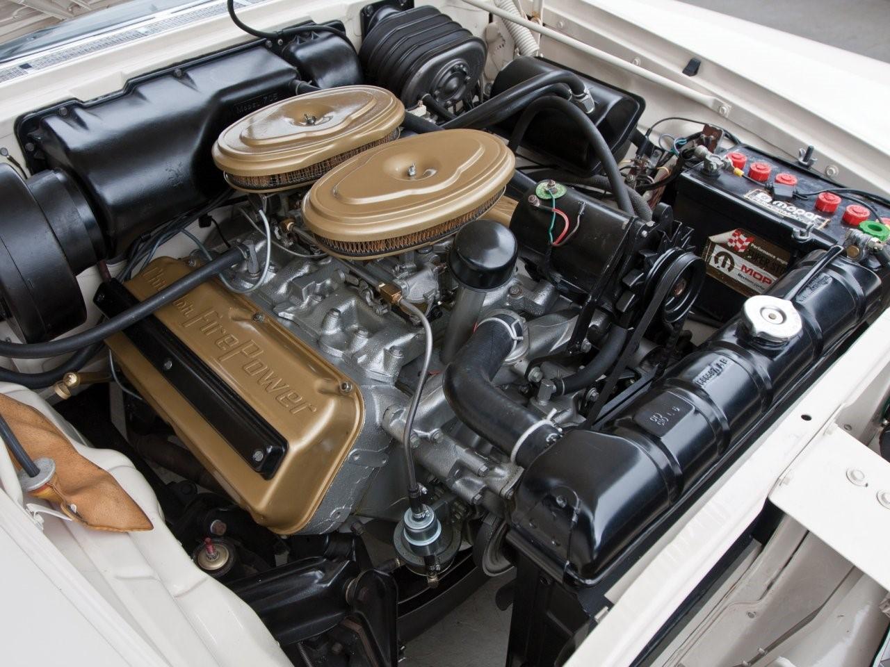 1958 Chrysler 300 convertible coupé 4