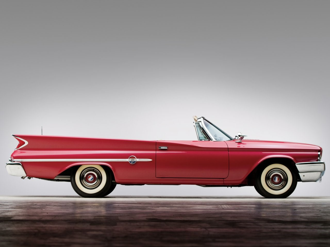 1960 Chrysler 300F convertible coupé 11