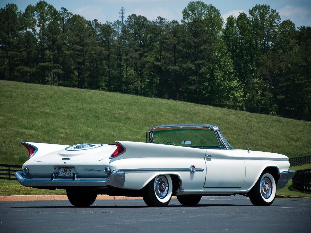 1960 Chrysler 300F convertible coupé 13