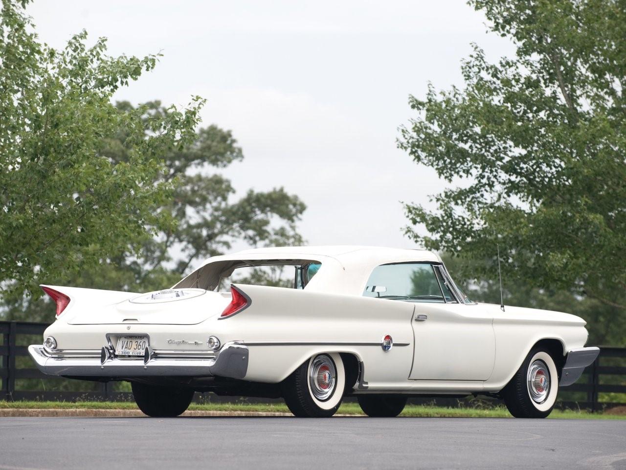 1960 Chrysler 300F convertible coupé 3