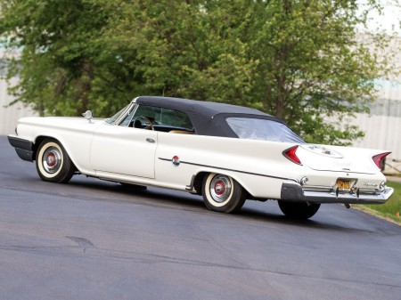 1960 Chrysler 300F convertible coupé 5