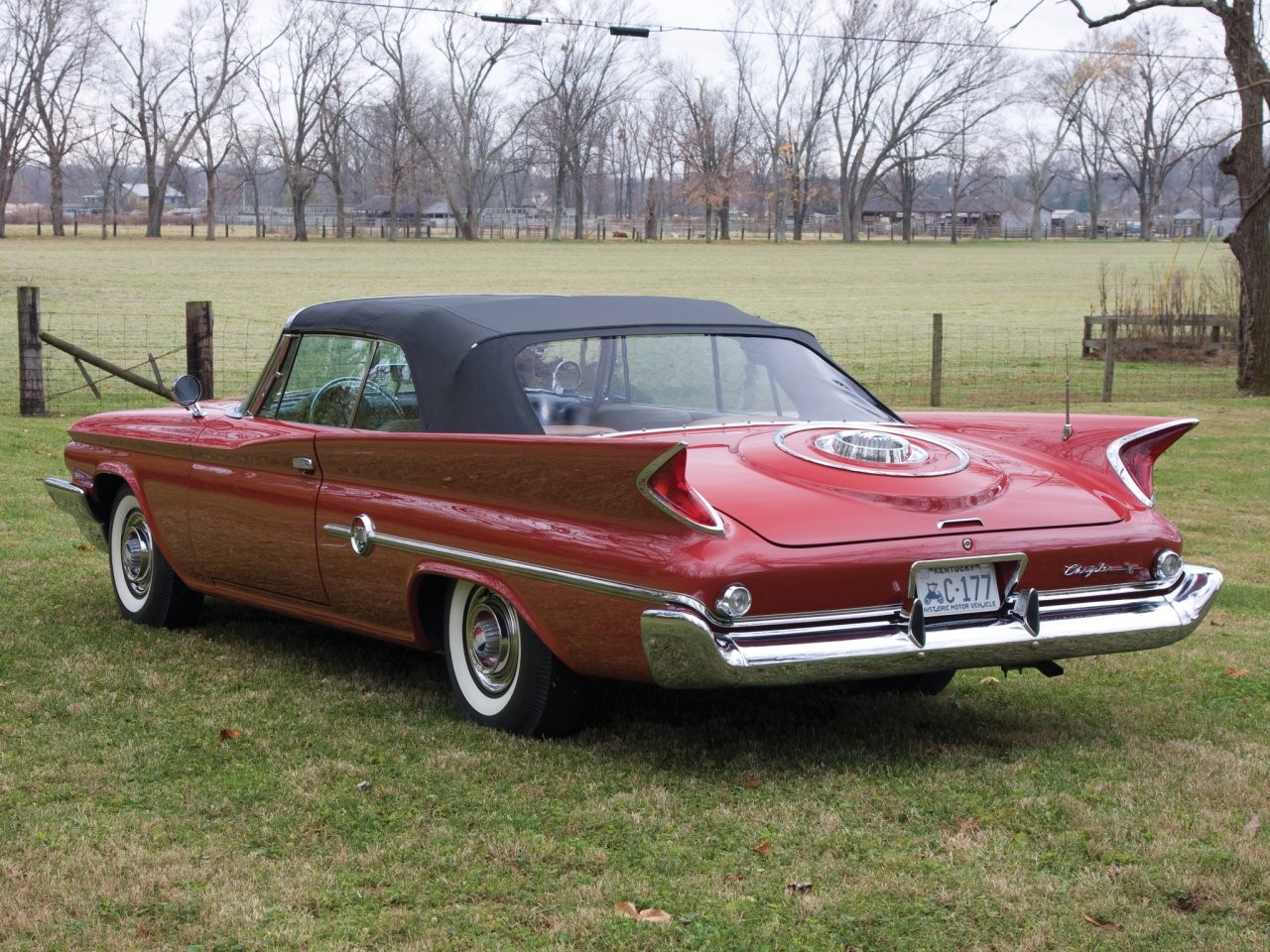 1960 Chrysler 300F convertible coupé 6