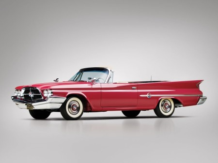 1960 Chrysler 300F convertible coupé 9