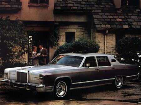 1979 Lincoln Continental Williamsburg Town Car