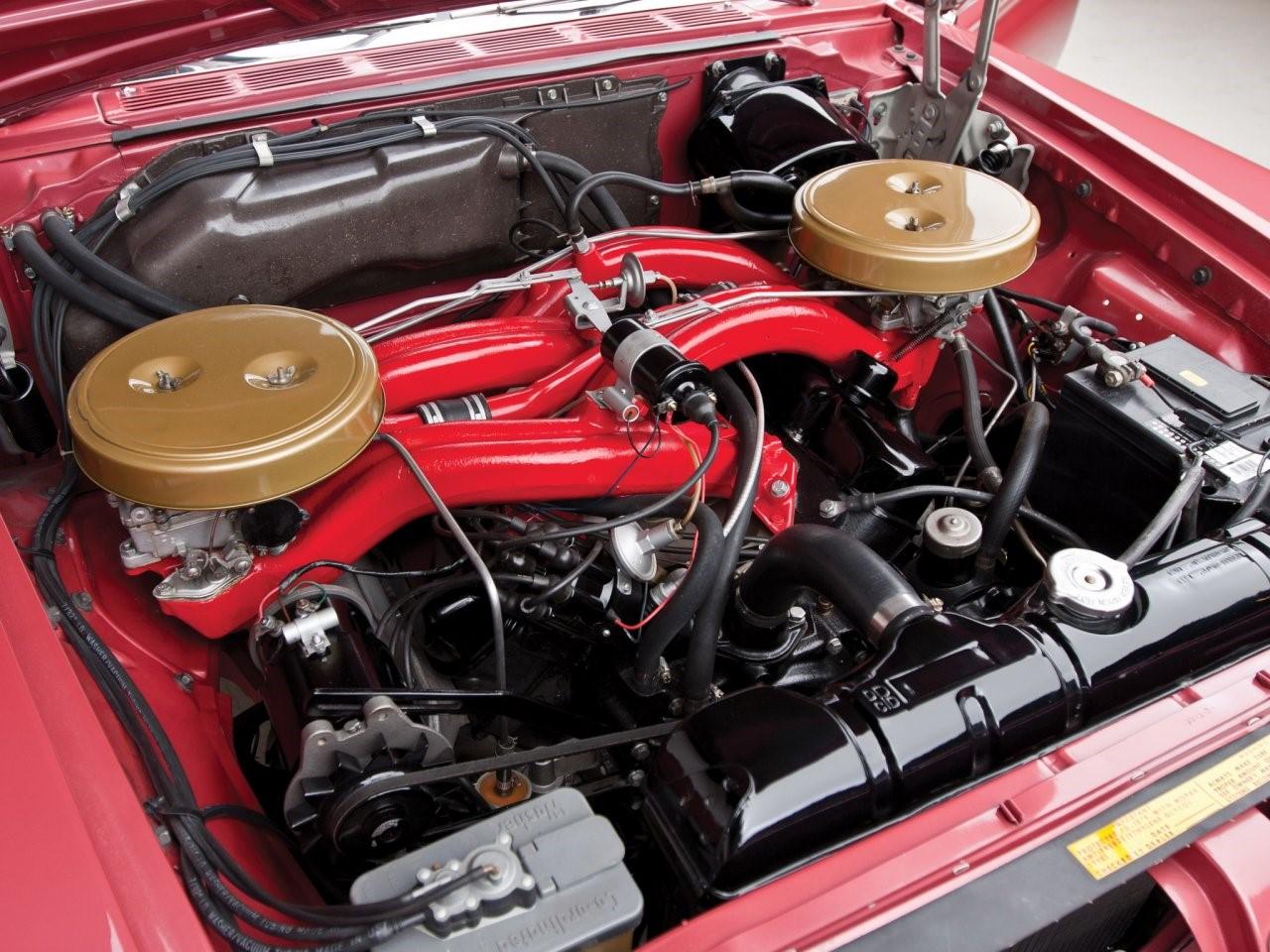 6.8 litre Wedge-head V8 2