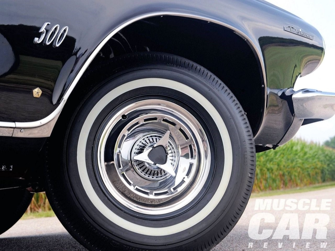 Remember the classic Dodge Polara knock-off wheels