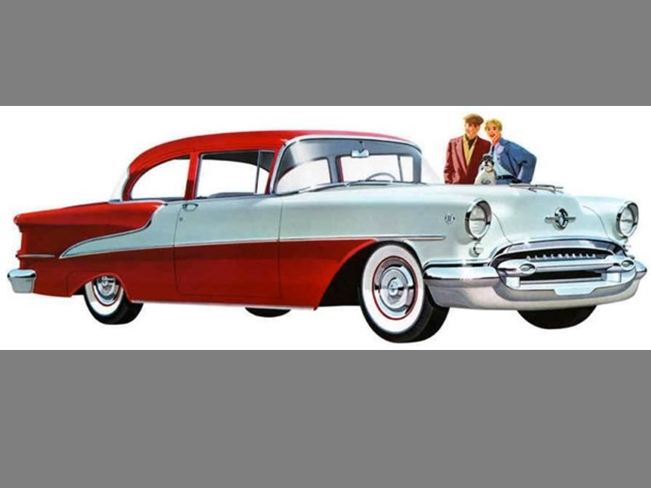 1955 Oldsmobile Super 88 Two-Door Sedan