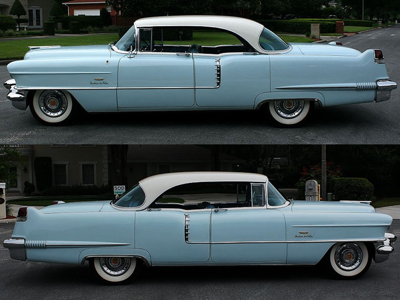 1956 coupe deville notoriousluxury for 1956 cadillac 4 door sedan