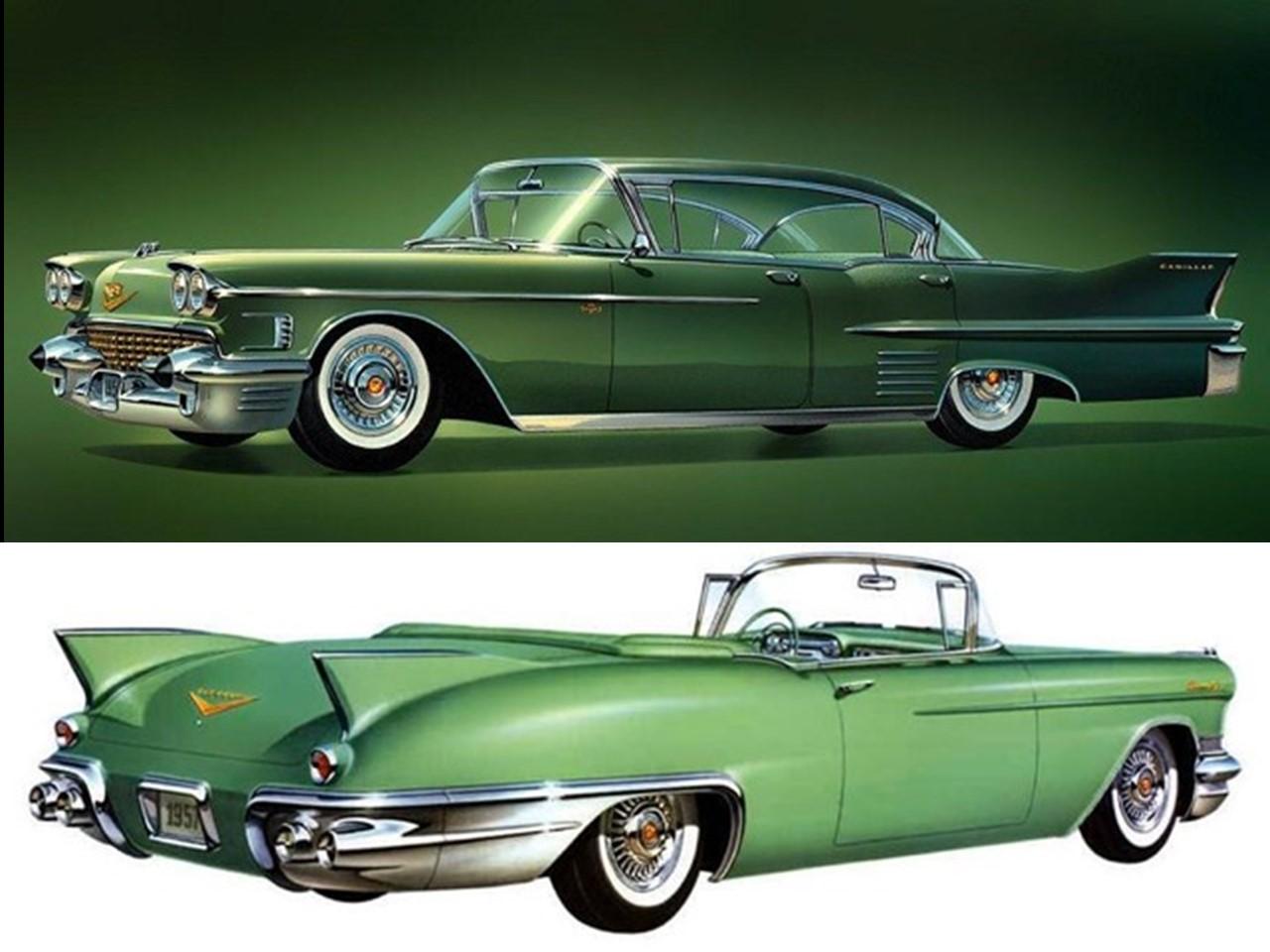 1957 and 1958 Cadillac