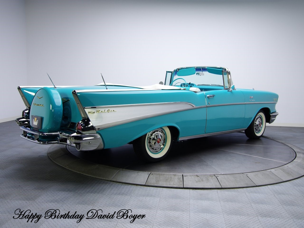 1957 Chevrolet Bel Air 3