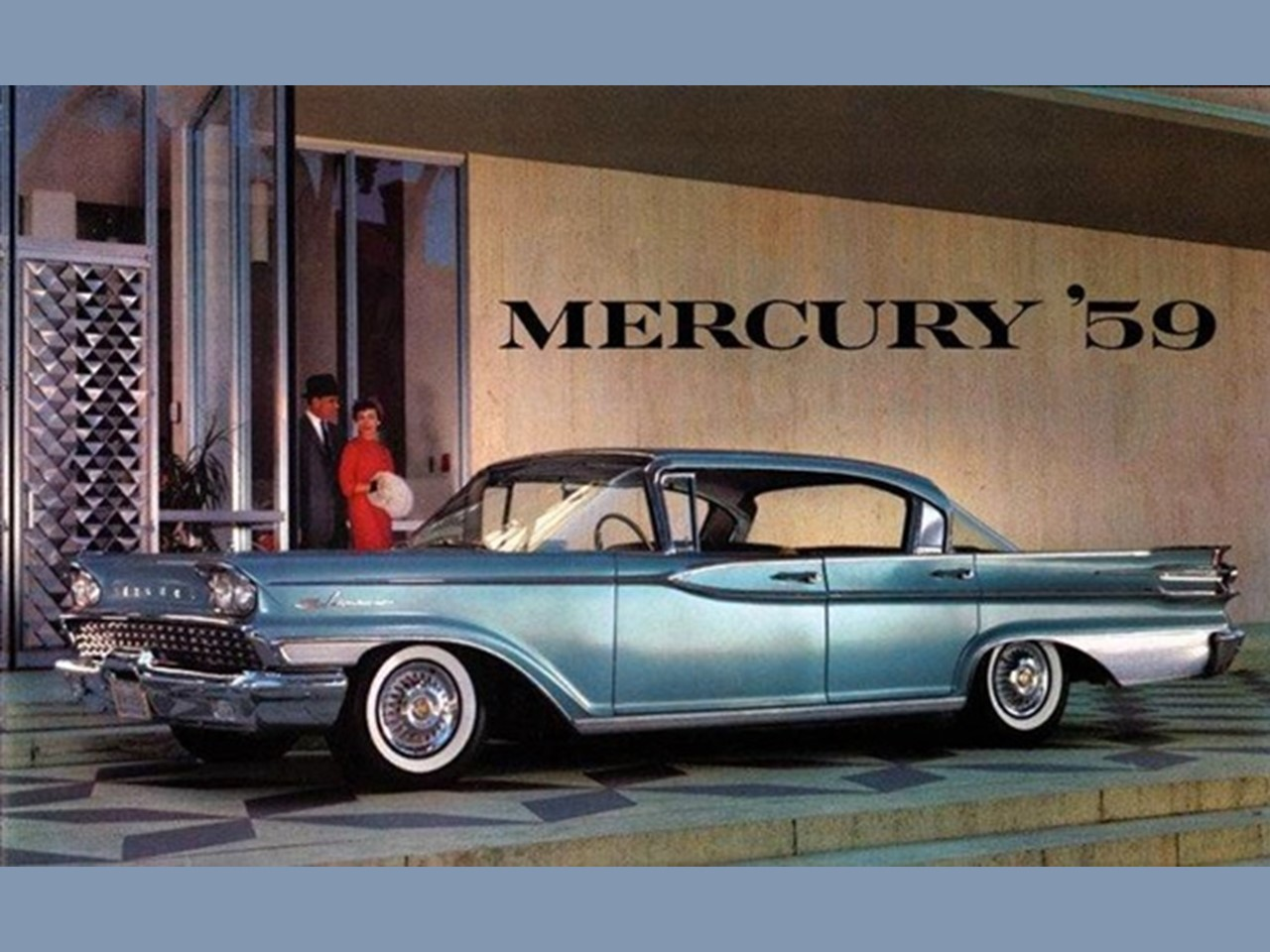 1959 Mercury Four Door Hardtop