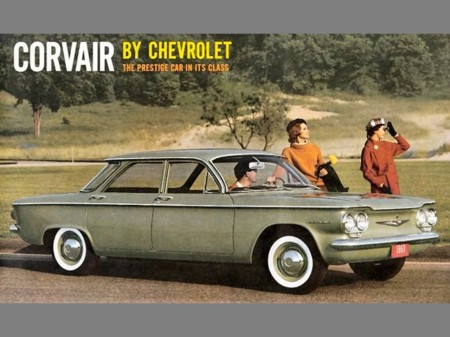 1960 Chevrolet Corvair This one's for you Ralph Nader