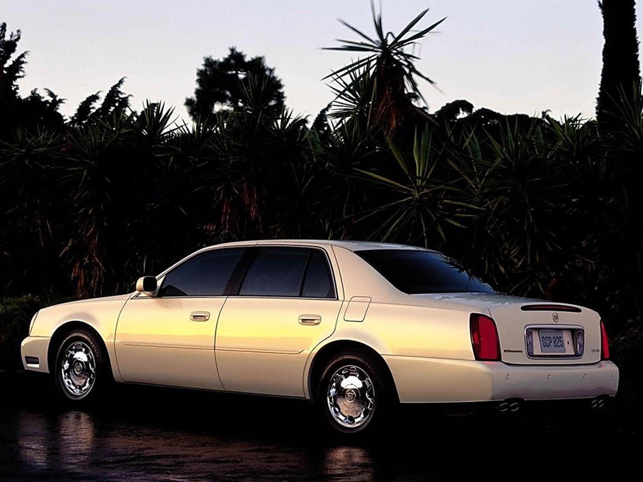 2002 Cadillac DHS 4