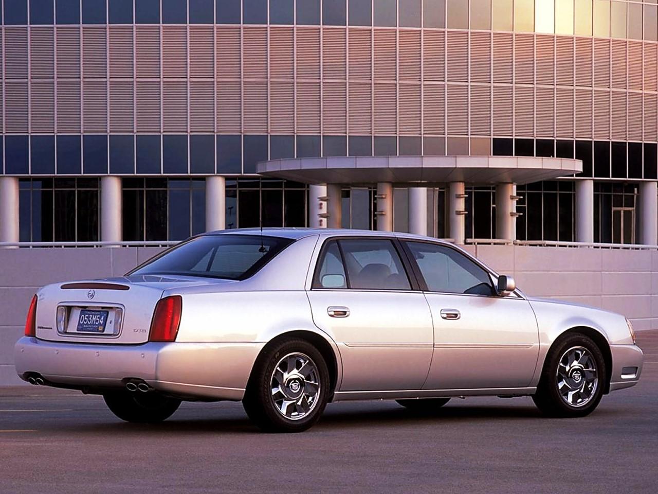 2002 Cadillac DTS 4