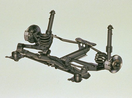independent rear suspension assembly
