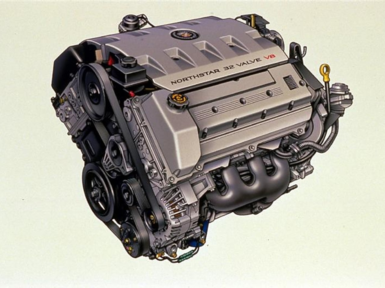 Northstar 32-valve V8 engine