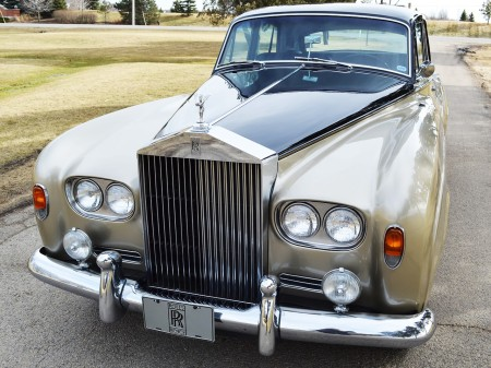 1963 Silver Cloud III 10