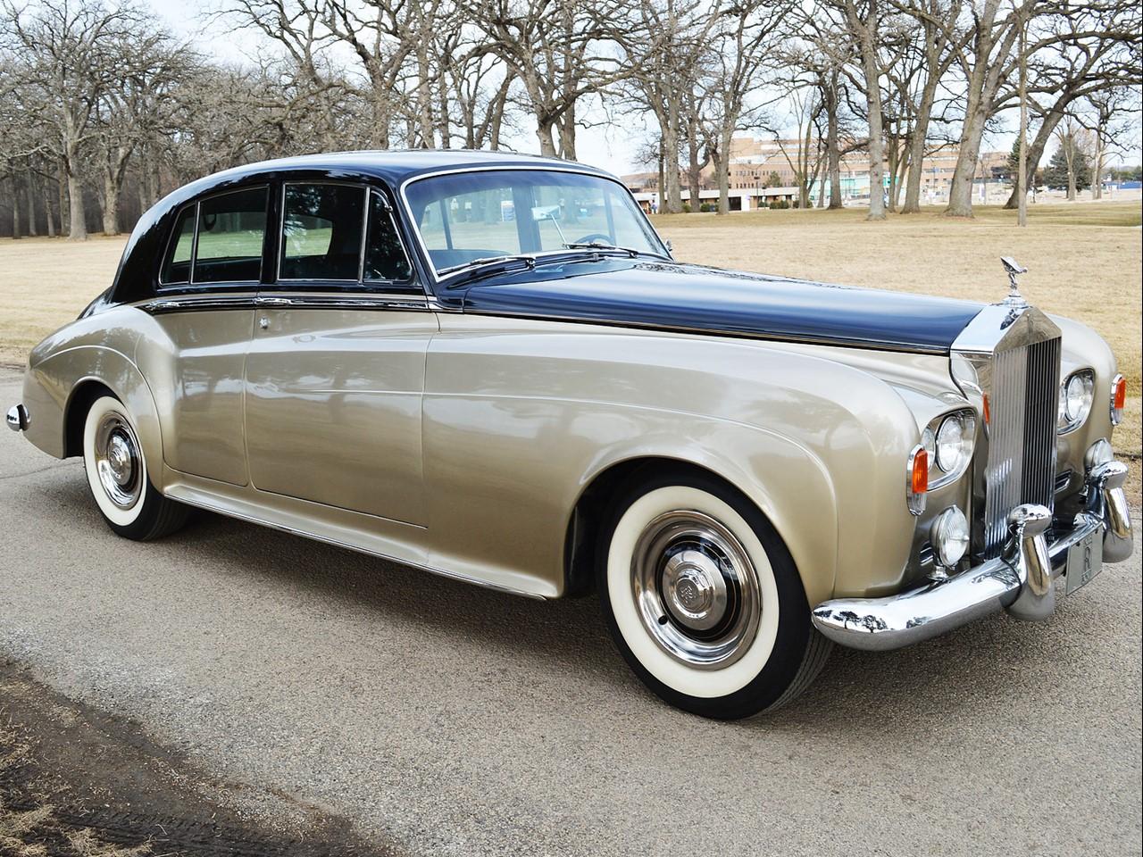1963 Silver Cloud III 35