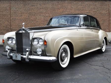 1963 Silver Cloud III 4