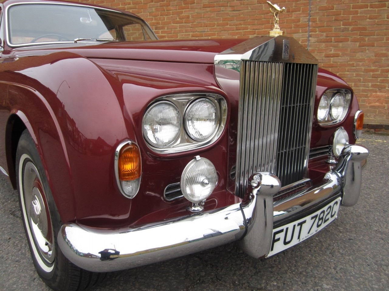 1965 Silver Cloud III Mulliner Flying Spur 8