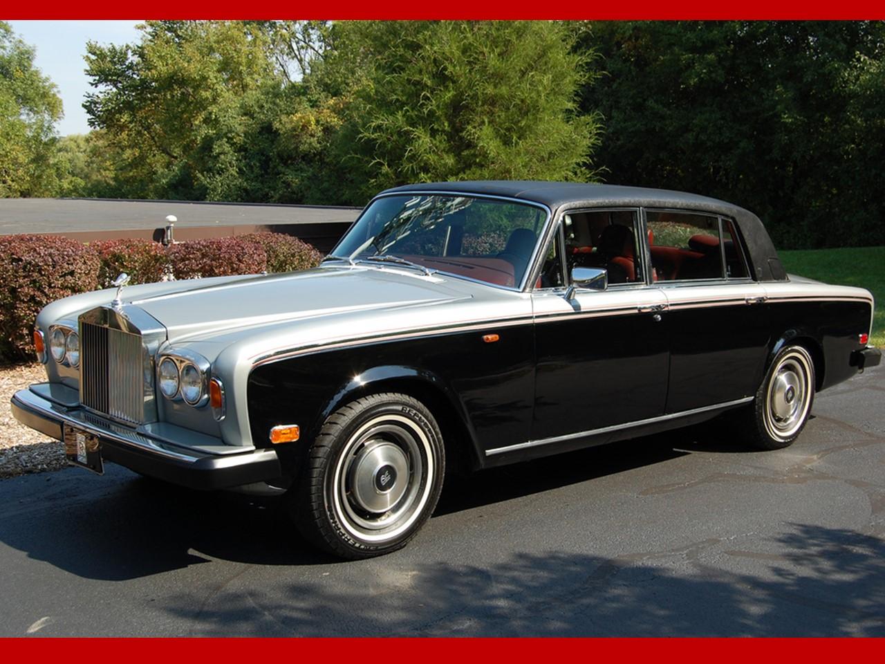 1978 Silver Wraith II silver & grey 7