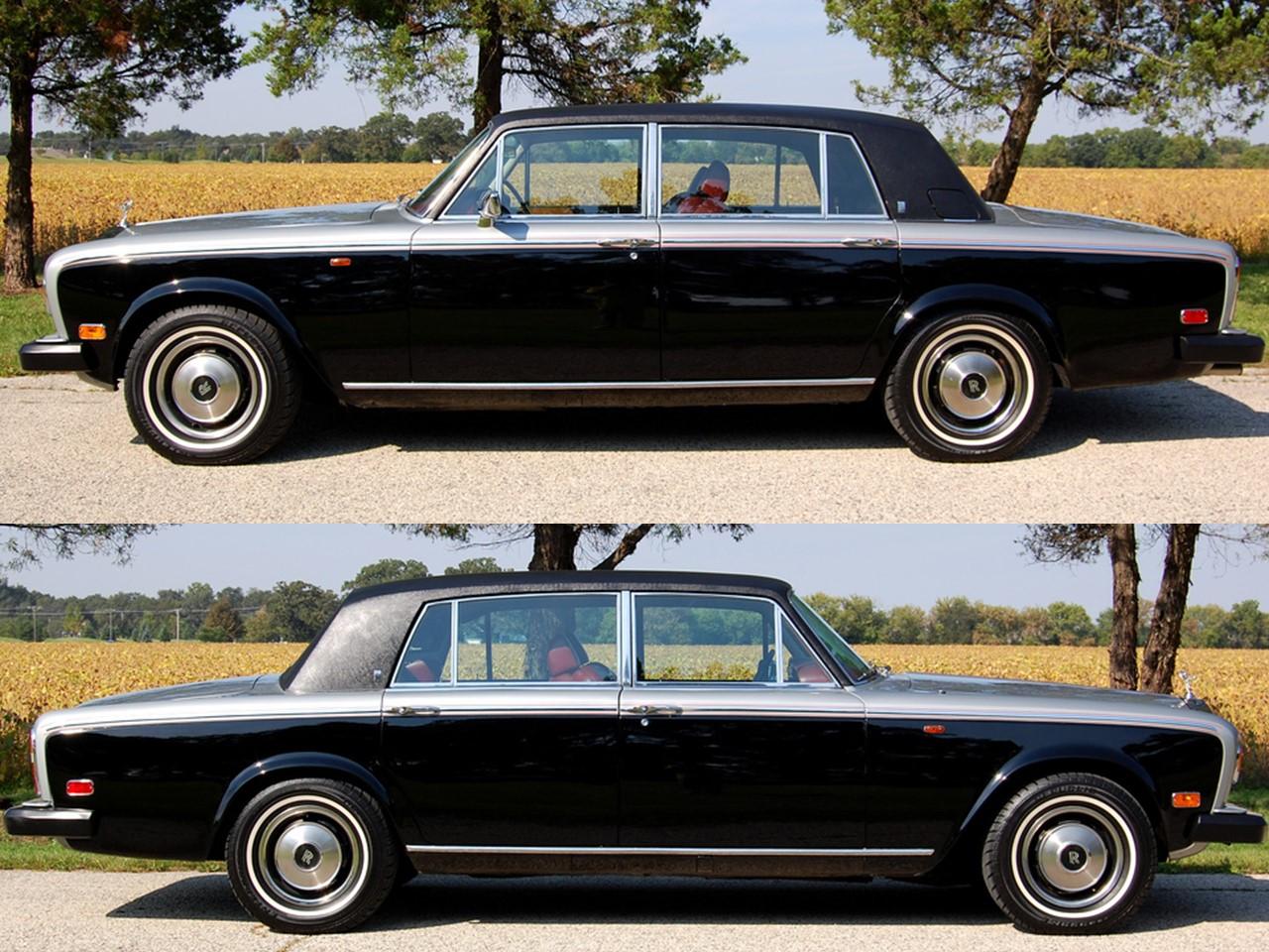 1978 Silver Wraith II silver & grey