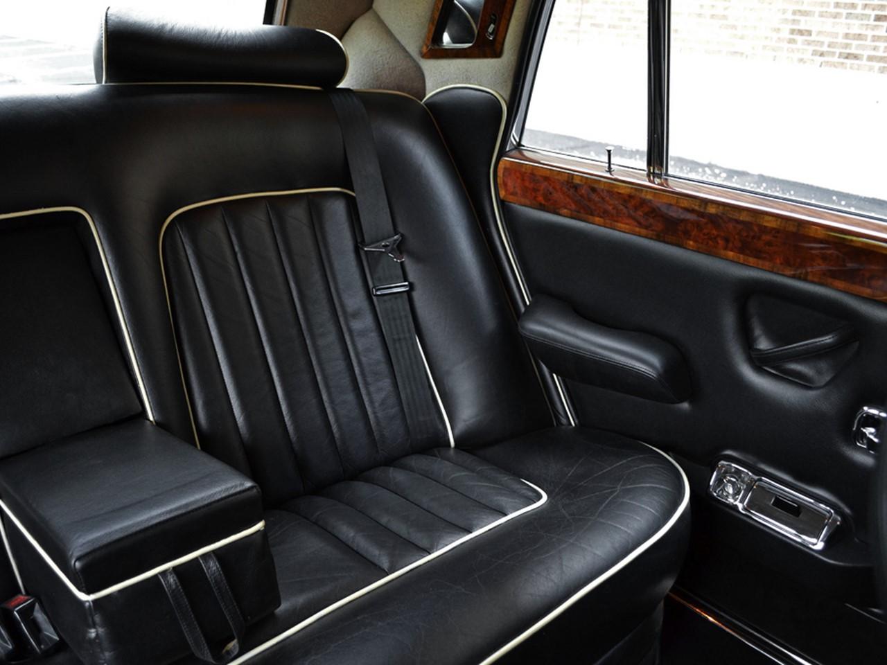 1980 Silver Wraith II 4-dooe saloon 17