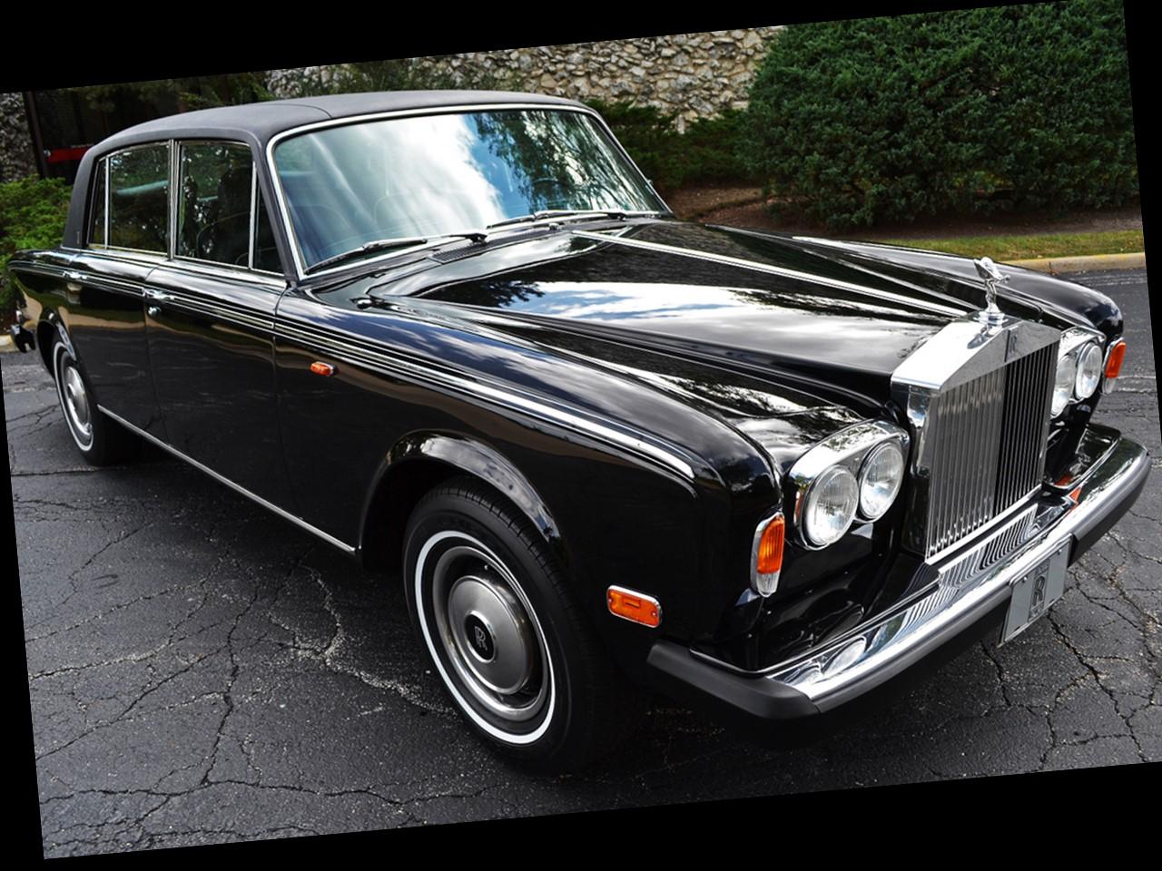 1980 Silver Wraith II 4-dooe saloon 3