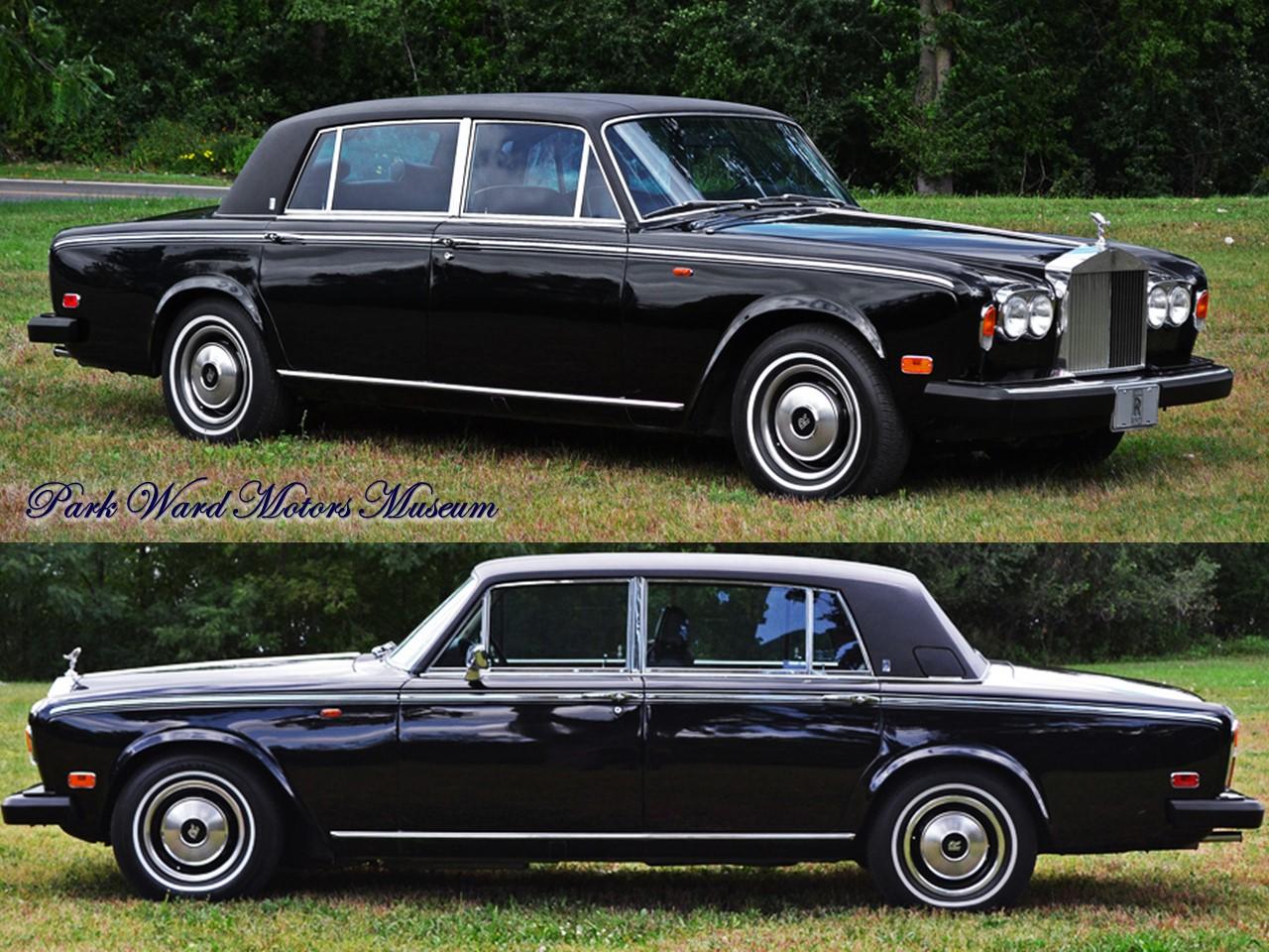 1980 Silver Wraith II 4-dooe saloon 7