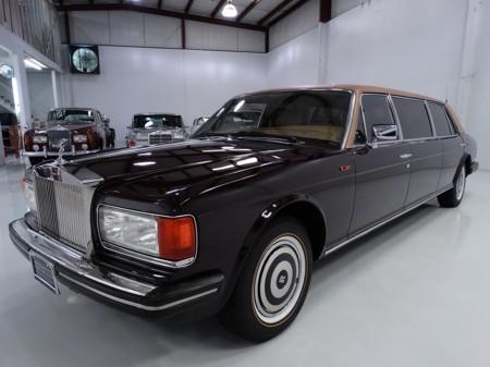 1986 Silver Spur limousine 1