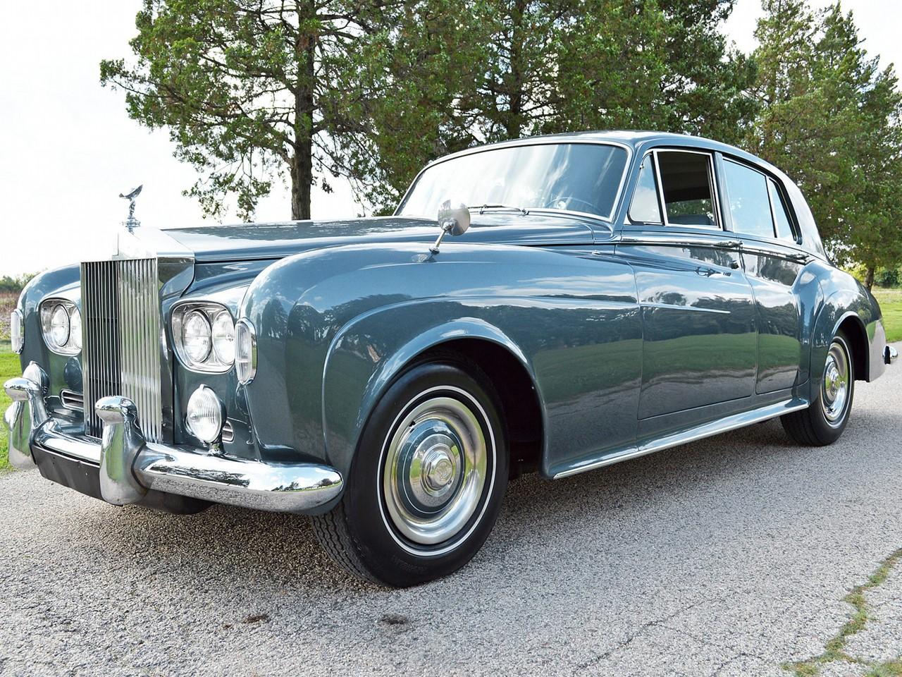 1969 Silver Shadow 35B