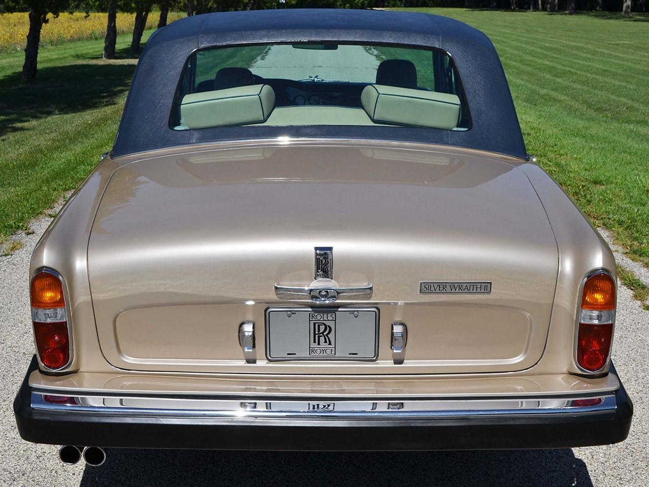 1980 Silver Wraith II 10